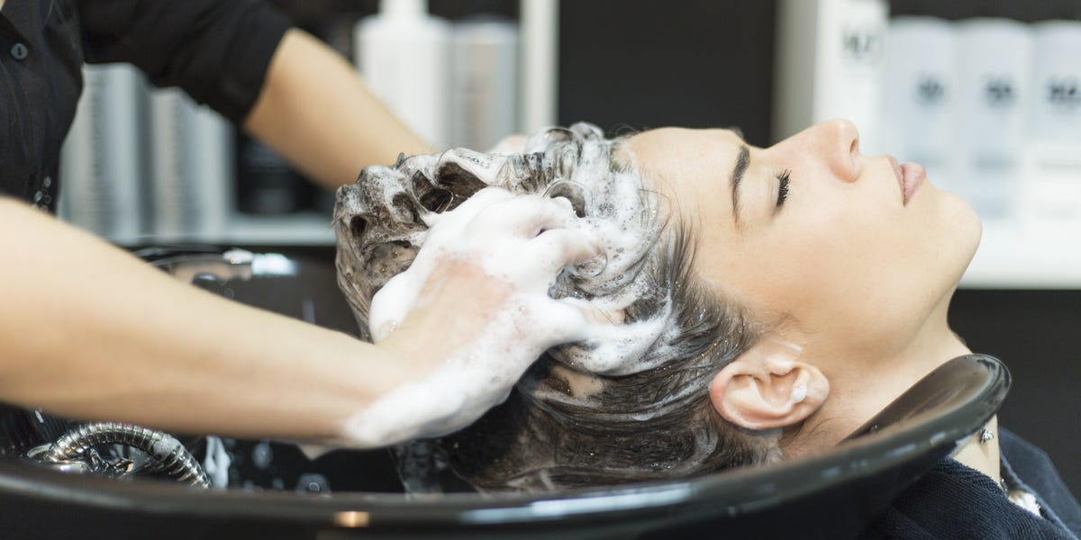Use a sulfate free shampoo